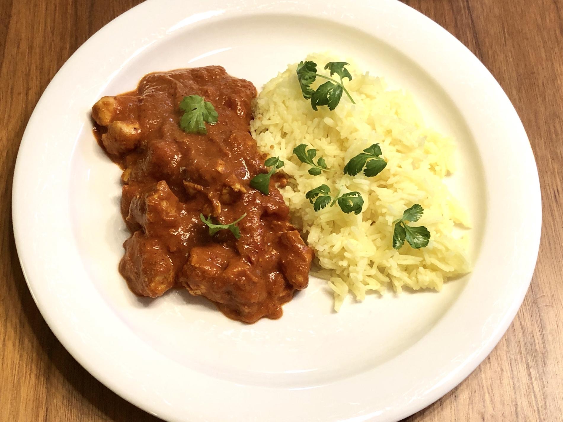 Kanaa Tikka Masala – maku kuin ravintolassa